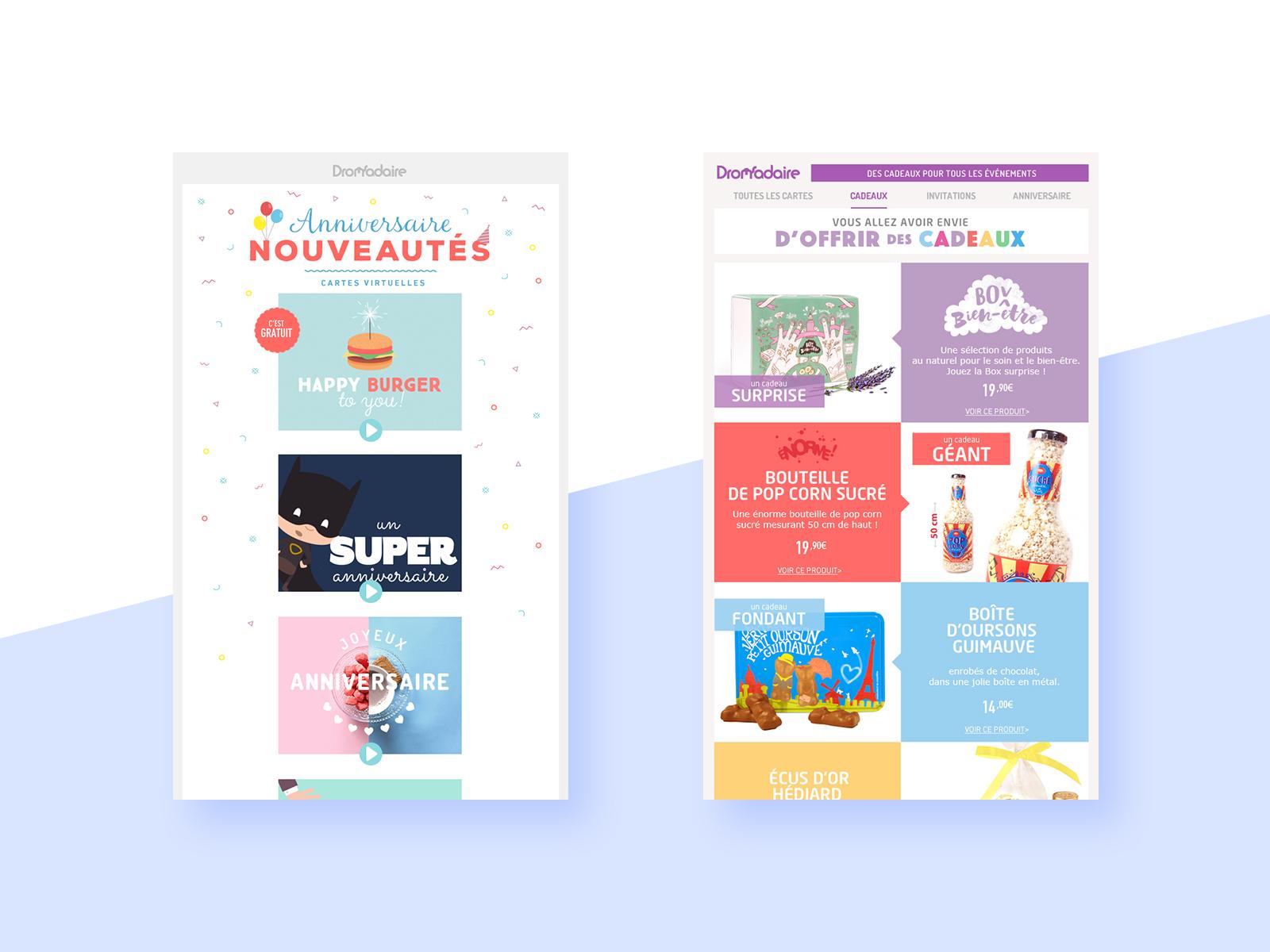 Newsletters Dromadaire.com