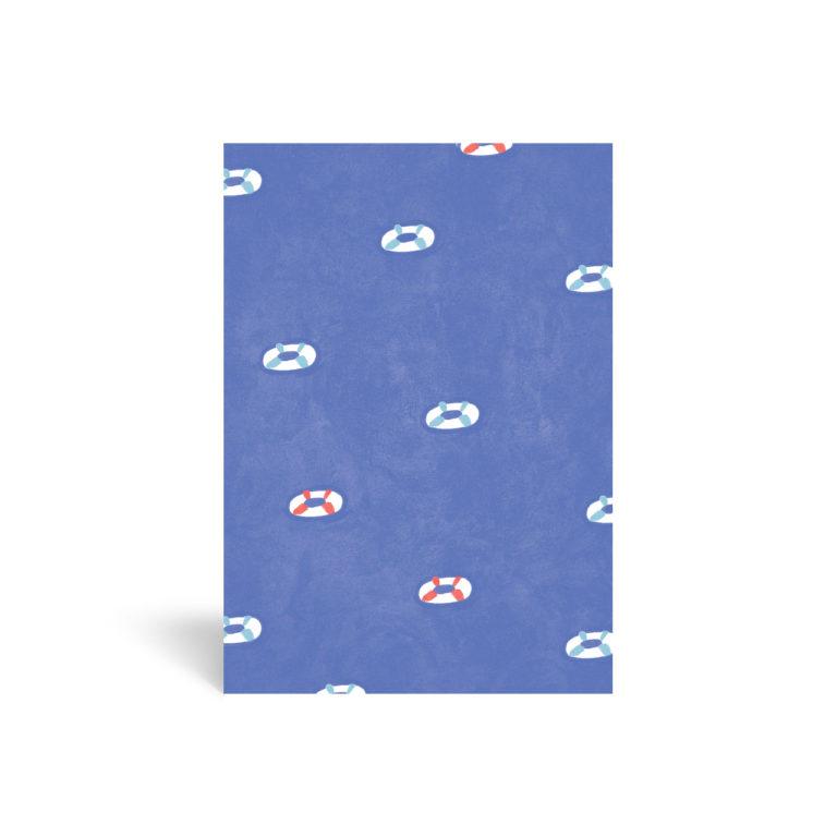 Carte papier carolecrea